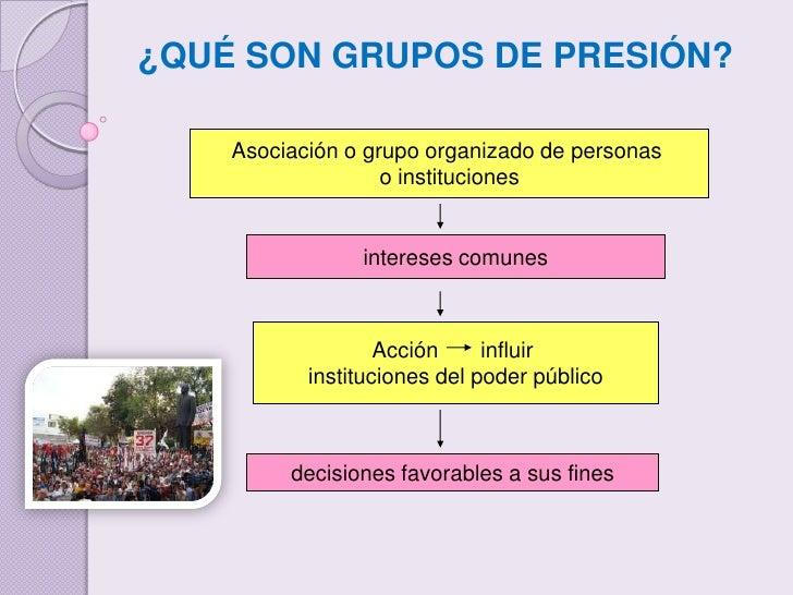 Grupo de presion ccpp - Grupo de presion ...