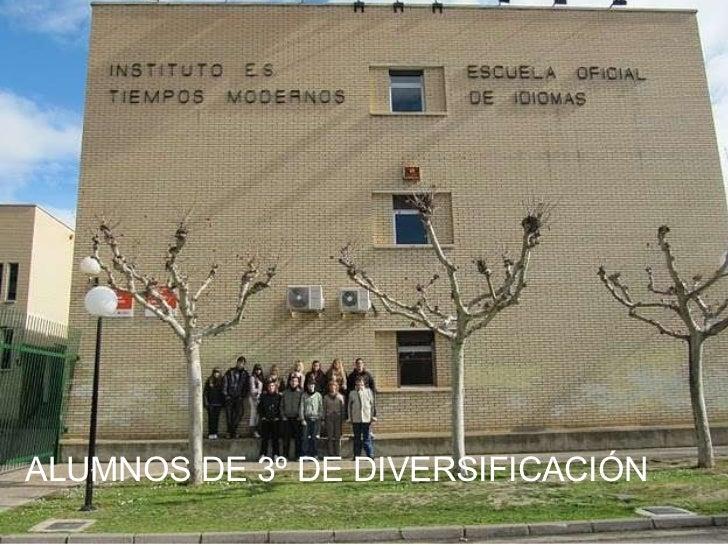 ALUMNOS DE 3º DE DIVERSIFICACIÓN