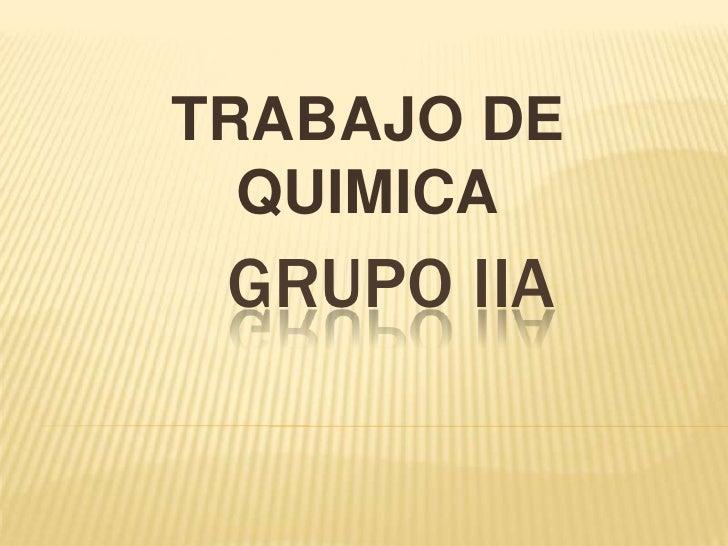 Grupo iia de la tabla periodica trabajo de quimica grupo iia docentelic urtaz Image collections