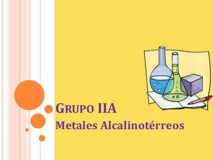 Grupo iia alcalinoterreos grupo iiabr metales alcalinotrreosbr urtaz Choice Image