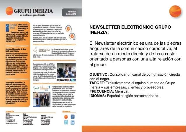 FACEBOOK, TWITTER GRUPO INERZIA Facebook y Twitter son las dos redes sociales en las que Grupo Inerzia cuenta con una pres...