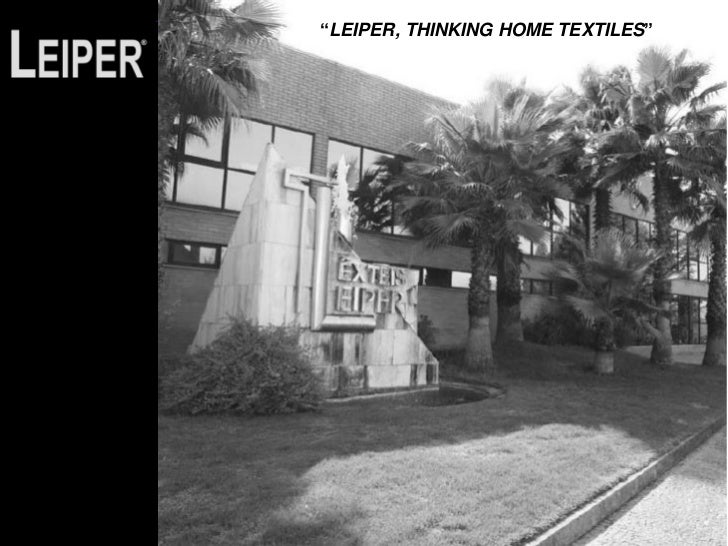 """LEIPER, THINKING HOME TEXTILES"""