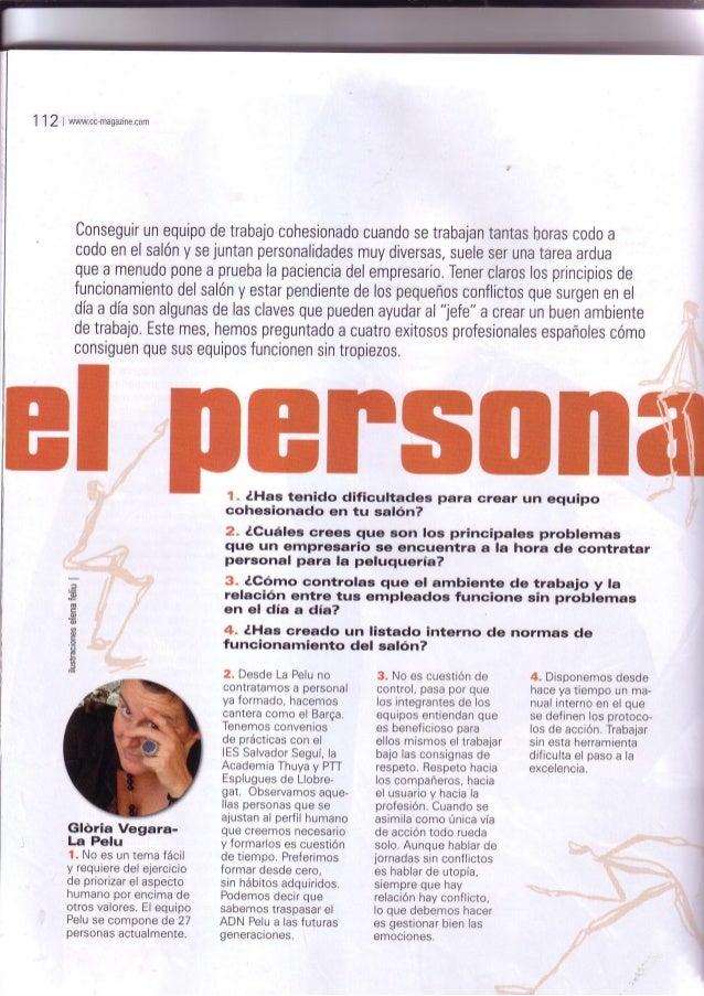 1 12 t wwwcc-magazine.com Conseguirunequipodetrabajocohesionadocuandosetrabajantantashorasc0d0a codoenelsalónysejuntanpers...
