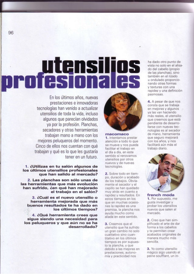 Grupo macomaco   entrevistas - revista c&c magazine nº132 ''utensilios profesionales''