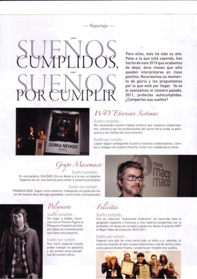 Grupo macomaco   entrevistas - revista tocado nº628 ''sueños cumplidos sueños por cumplir...''