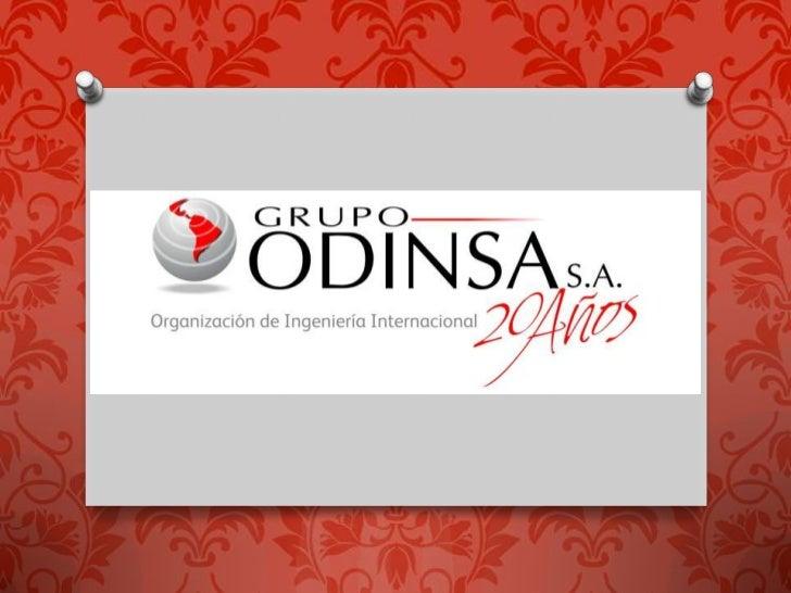 HistoriaLa Empresa de Empresas, así definida, se constituyó en1992 como el Grupo Odinsa S.A. Los accionistasfundadores fue...