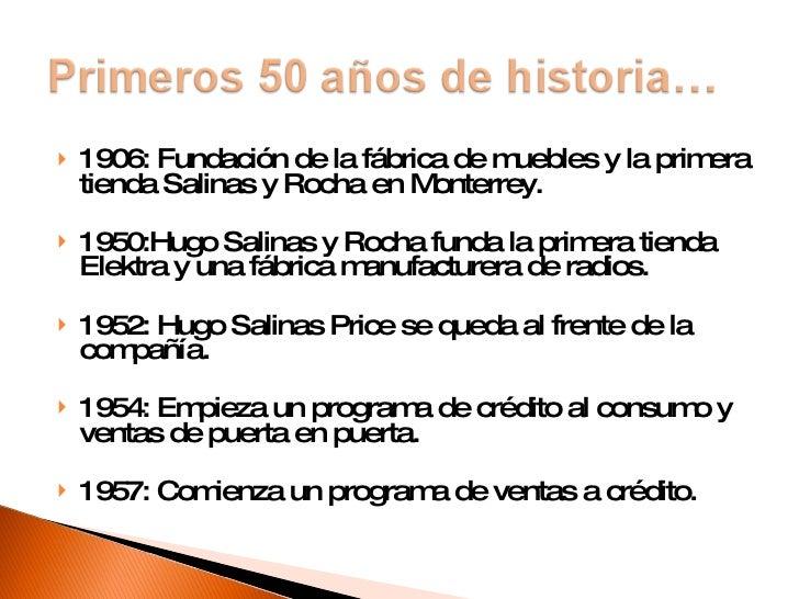 Grupo Salinas, análisis de sus empresas Slide 2