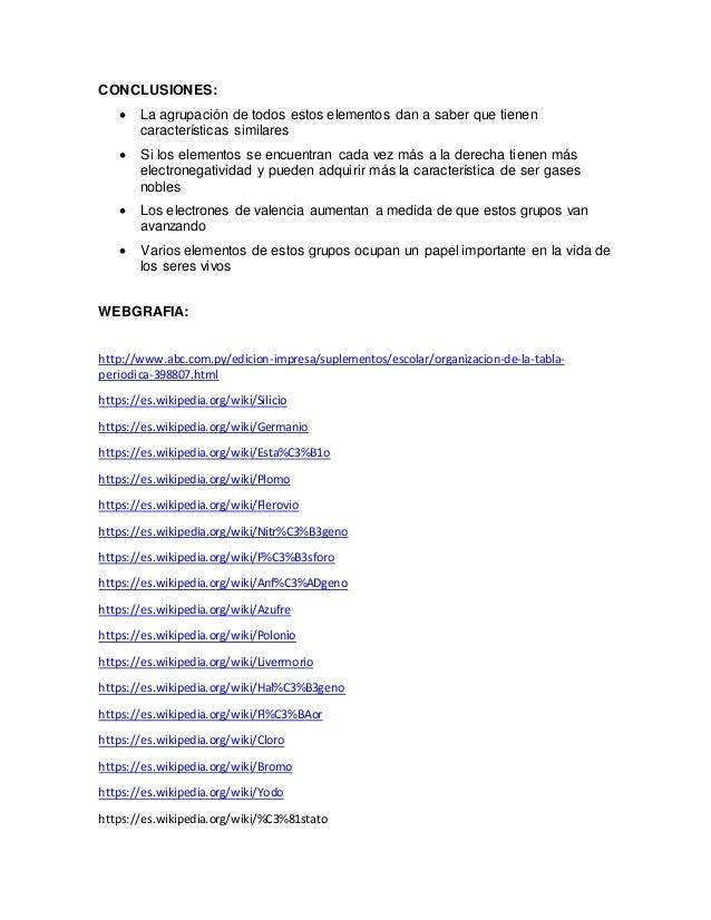 Grupos de la tabla periodica 20 urtaz Image collections