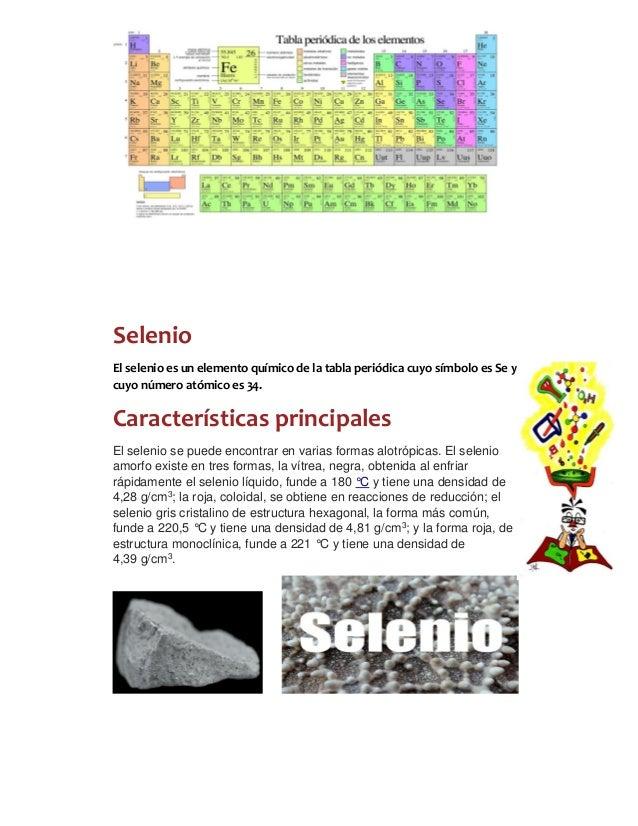 Grupos de la tabla periodica 1 selenio el selenio es un elemento qumico de la tabla peridica urtaz Image collections