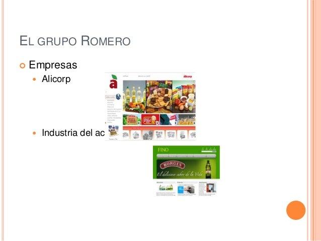 57b2e7e96311b EL GRUPO ROMERO  Empresas  Alicorp  Industria del aceite ...