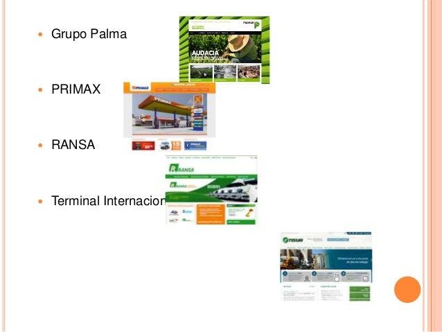  Grupo Palma  PRIMAX  RANSA  Terminal Internacional de Sur