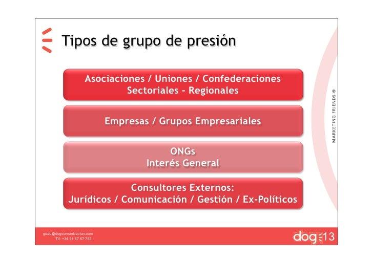 Grupos de presion 1 - Grupo de presion ...