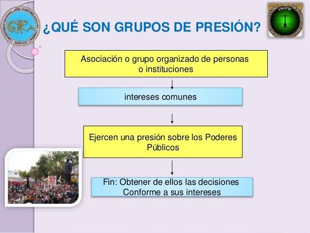 Grupos de presi n y lobbys - Grupo de presion ...