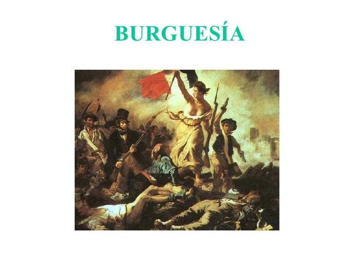BURGUESÍA