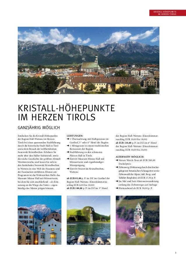 3 Entdecken Sie die Kristall-Höhepunkte der Region Hall-Wattens im Herzen Tirols bei einer spannenden Stadtführung durch d...