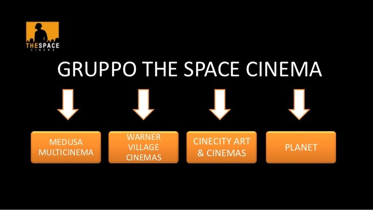 GRUPPO THE SPACE CINEMA              WARNER MEDUSA                 CINECITY ARTMULTICINEMA              VILLAGE           ...