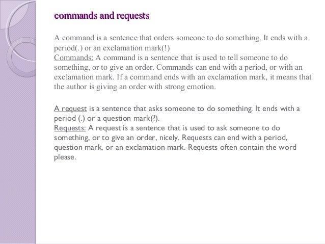 Yrhs miss kreklewich sentence purposes. Declarative sentence a.