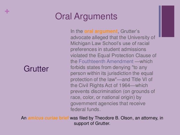 Gratz v. Bollinger; Grutter v. Bollinger