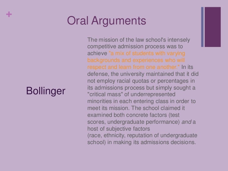 Grutter vs bollinger