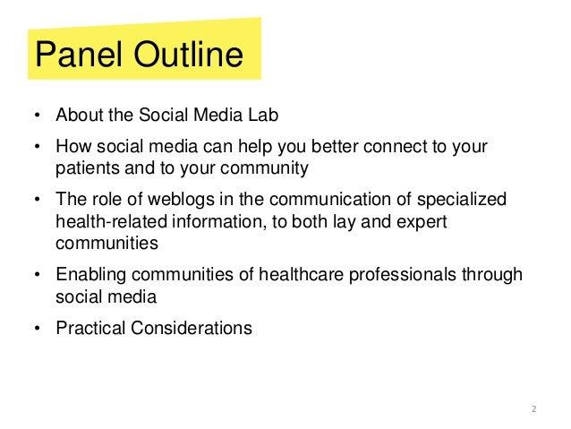 Social Media for Health Slide 2
