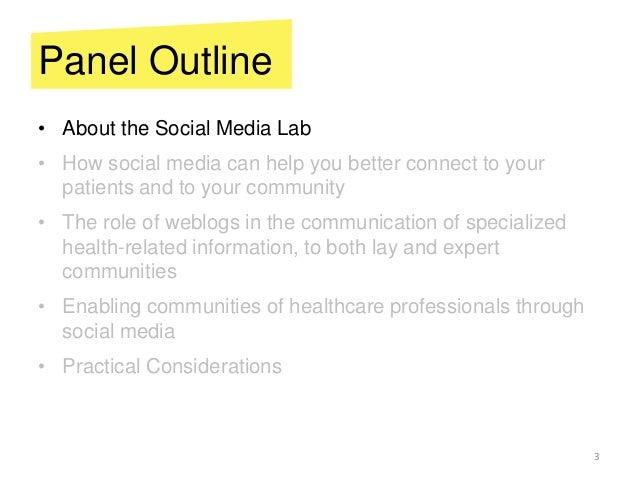 Social Media for Health Slide 3