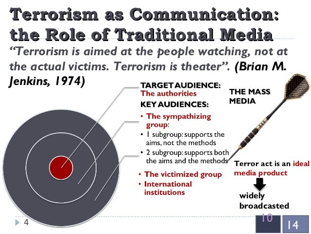 "an analysis of the terrorism and the media Terrorism and the media: a dangerous symbiosis terrorism, the media & public life,"" co a comparative analysis of frames employed in terrorism coverage in u."