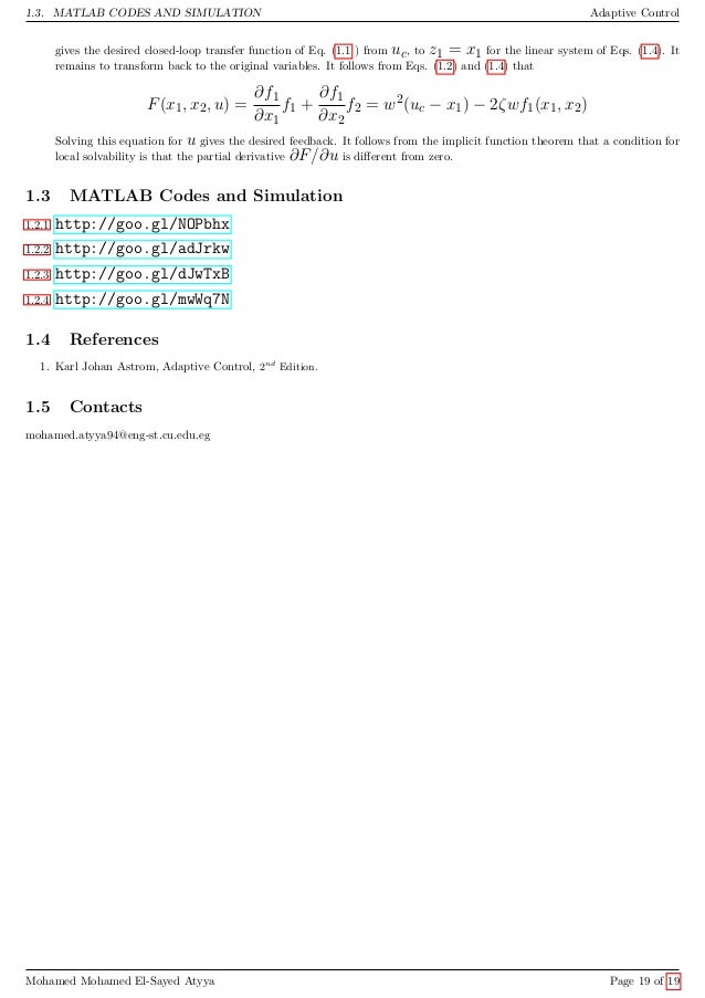 Gain Scheduling (GS)