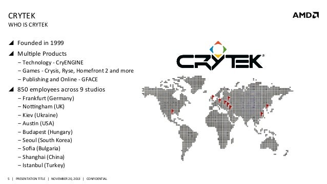 GS-4133, CRYENGINE and AMD bringing the next generation