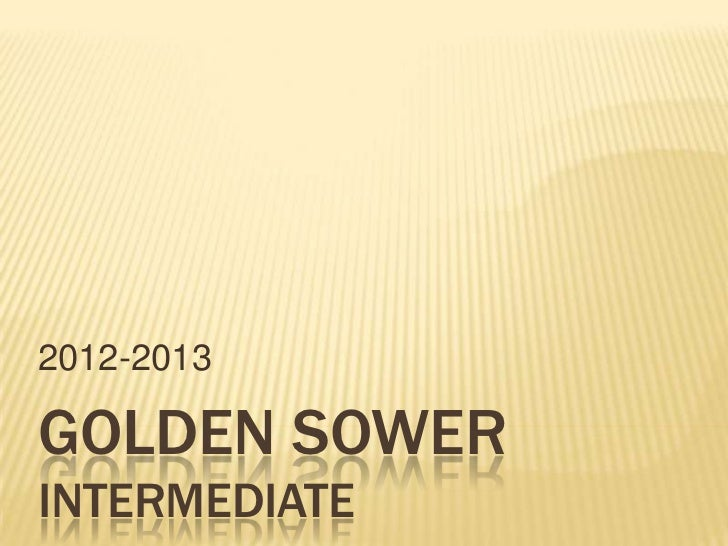 2012-2013GOLDEN SOWERINTERMEDIATE
