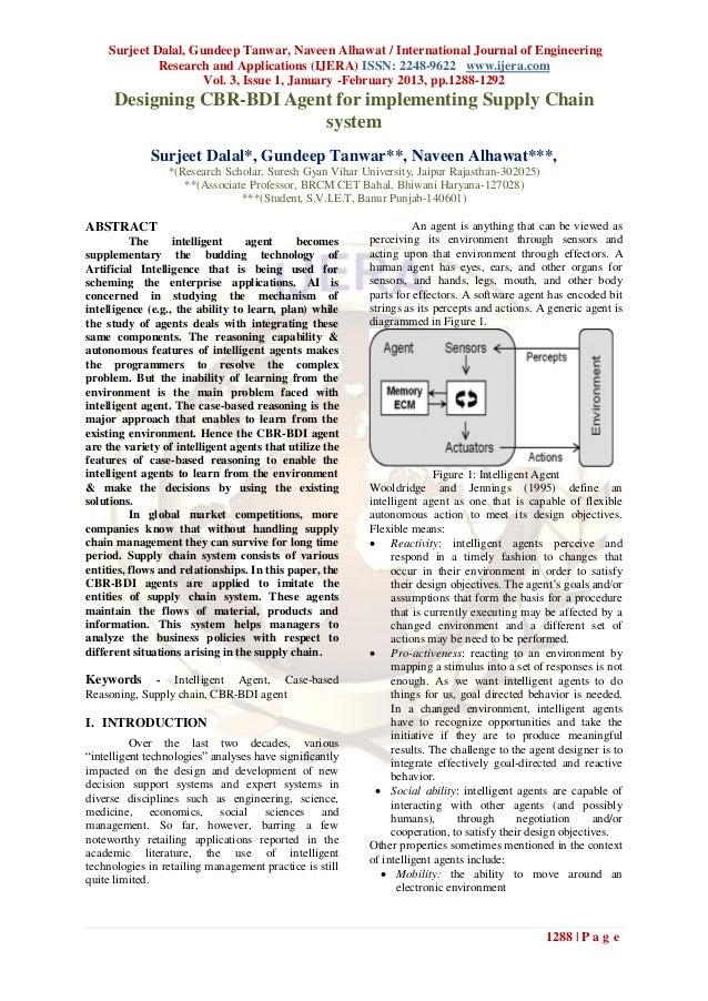 Surjeet Dalal, Gundeep Tanwar, Naveen Alhawat / International Journal of Engineering             Research and Applications...