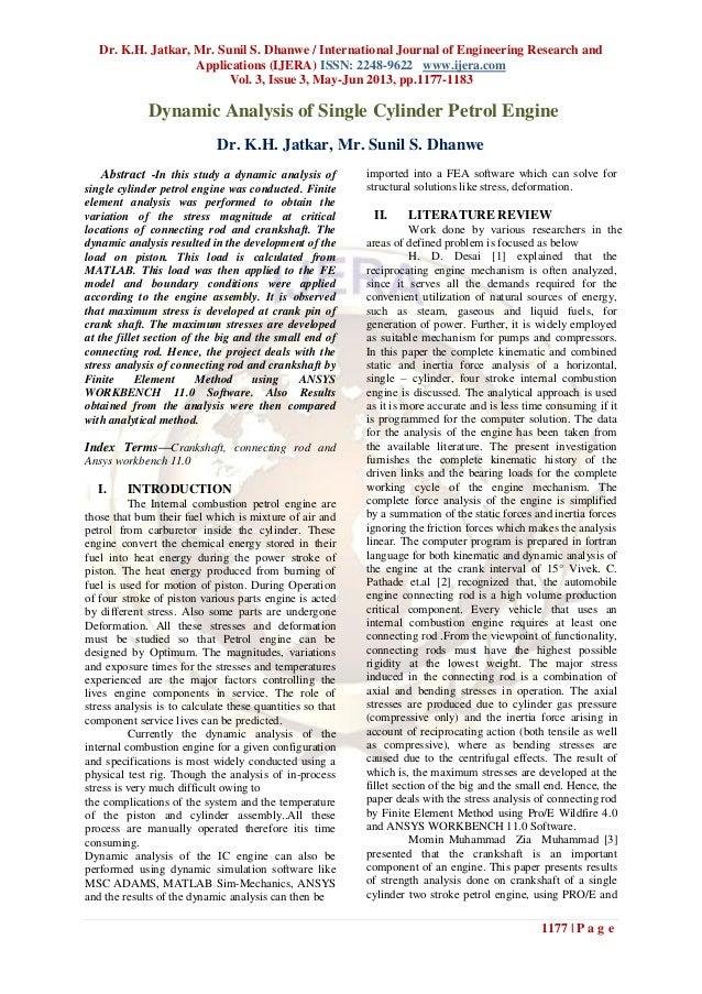 Dr. K.H. Jatkar, Mr. Sunil S. Dhanwe / International Journal of Engineering Research andApplications (IJERA) ISSN: 2248-96...