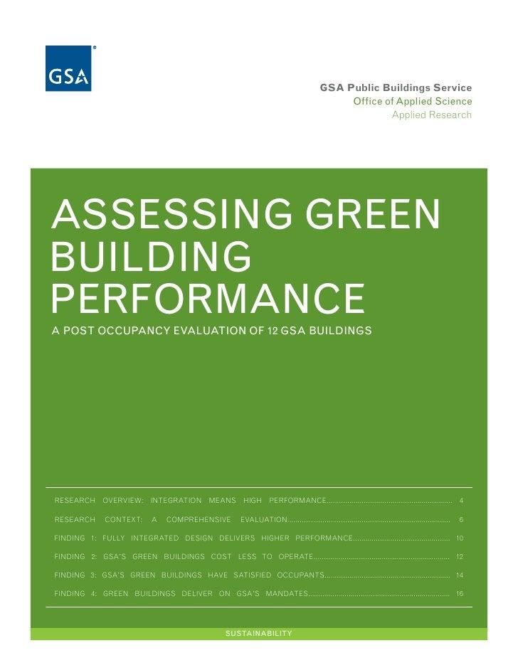 GSA Public Buildings Service                                                                                              ...