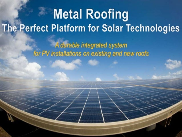 A durable integrated system for PV installations on existing and new roofs