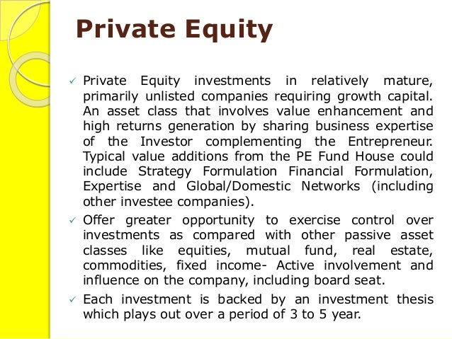 private equity services Slide 3