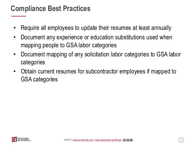 Webinar: The Ten Commandments Of Gsa Schedule Compliance