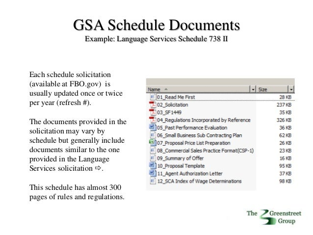 Gsa Schedules Gov Alliance Presentation