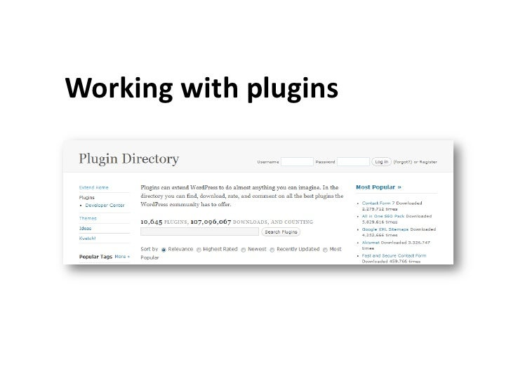 Federal agencies that want to use vetted WordPress plugins canlearn more at: http://blog.citizen.apps.gov/release/blog-plu...