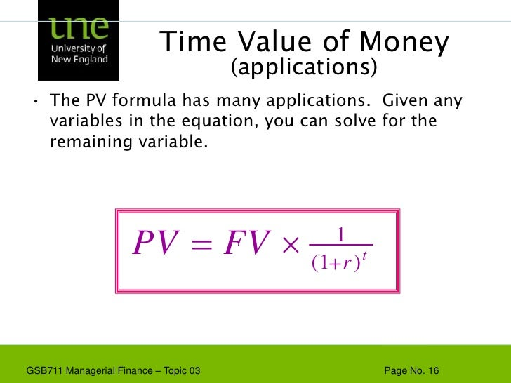 time vaue of maoney The time value of money is the greater benefit of receiving money now rather than later it is founded on time preference the principle of the time value of money.