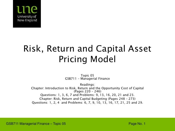 GSB-711-Lecture-Note-05-Risk-Return-and-CAPM