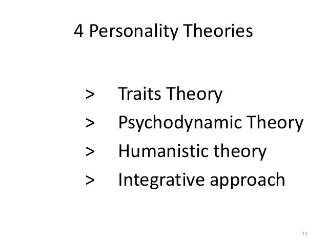 Sumation of personality theories