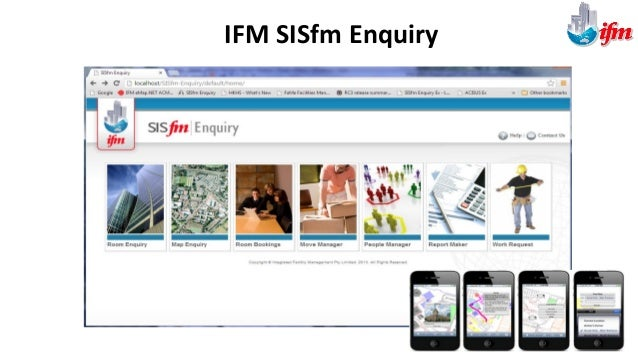 Public, Student and Staff Access through IFM SISfm Enquiry IFM SISfm Map Enquiry with EcoDomus