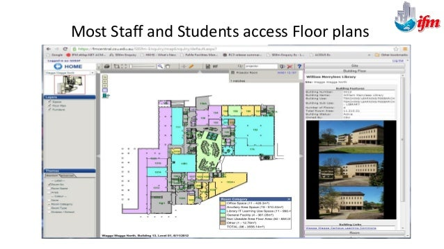 Select FM Staff and Contractors Access EcoDomus from IFM SISfm Map Enquiry Site Map from Web/Mobile 35
