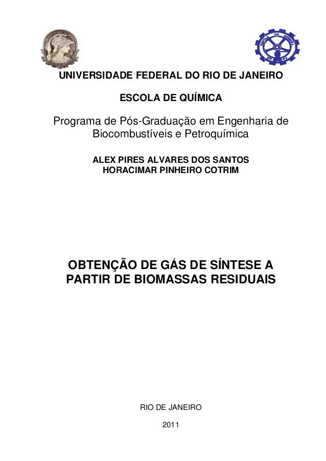 P UNIVE Program OBT PAR RSIDA ma de Bioco ALEX HOR TENÇ RTIR D ADE FE ESCO Pós-G ombust PIRES A RACIMA ÇÃO D DE BIO RI EDE...