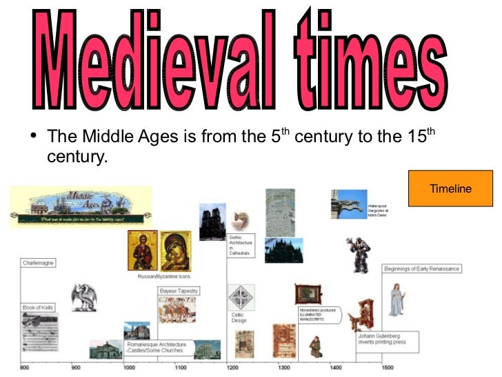 Middle ages dates in Melbourne
