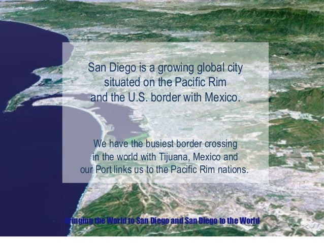 Learn more about the features of Global San Diego Slide 2