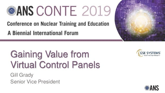 GSE Gaining Value From Virtual Control Panels CONTE 2019