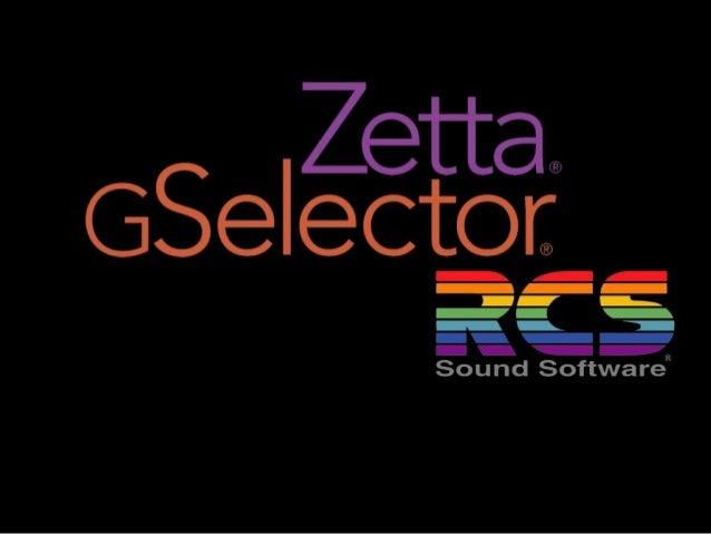 Gselector note  • Baser sur l'expérience de la Ste RCS , le  Gselector permet de d'associer des données a  la fiche d'un c...