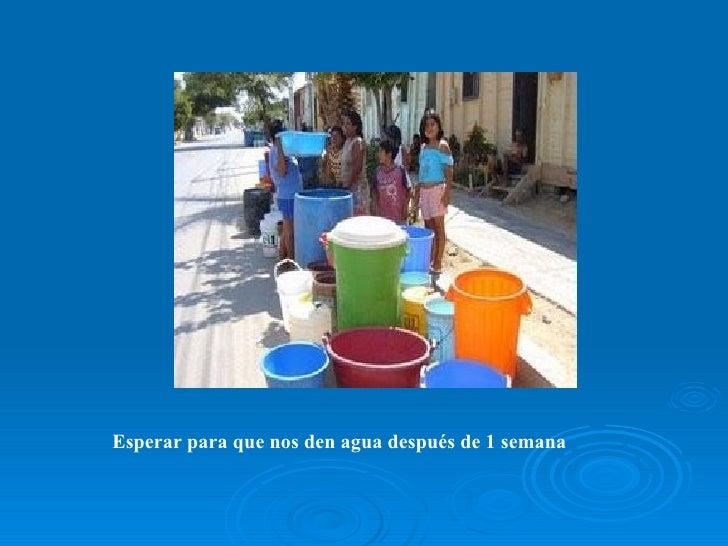 Escasez de agua potable for Agua potable