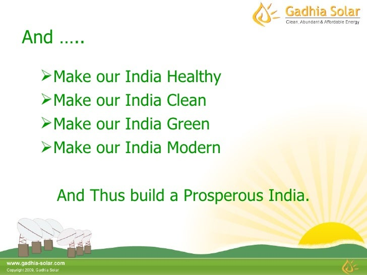 Gadhia Solar Energy Systems Pvt Ltd