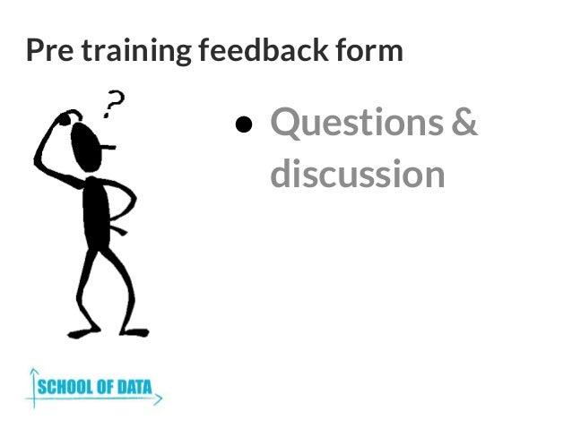 Skillshare getting feedback from training events – Training Feedback Questions